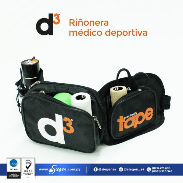 riñonera médico deportiva