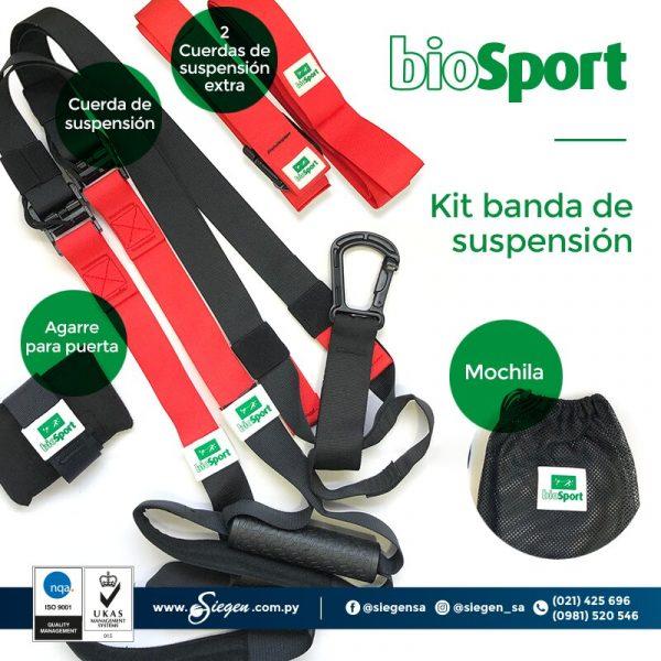 Kit Banda de Suspensión Biosport