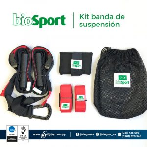 kit de entrenamiento en suspension